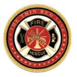 fire rescue coin