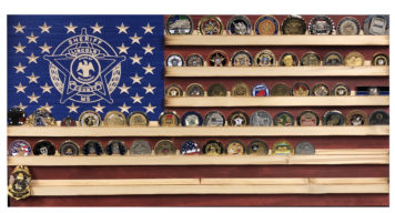 Custom Challenge Coin Display