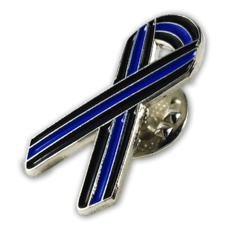 thin blue line blue ribbon