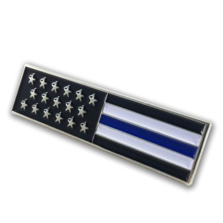 Uniform bar lapel pin